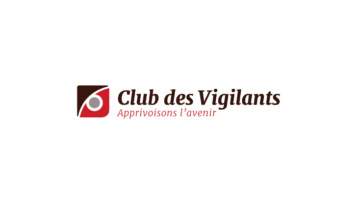 Club des vigilants : redesign du logo