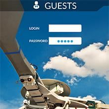 iPad Guests, design d'application iPad pour l'aéronautique